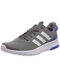 adidas Boys' Cf Racer Tr Track & Field Shoes, Grey (Gris 000), 3 UK