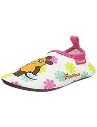 Playshoes 中性儿童 Uv-Schutz Barfu\u00df-schuh Die Maus Blumen 水鞋