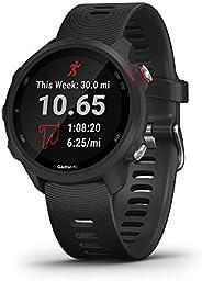 Garmin 佳明 Forerunner 245 跑步智能手表,高级动态设计010-02120-20 音乐 黑色