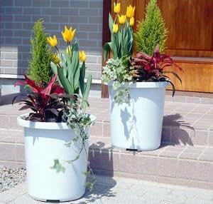 IRIS 日本爱丽思 厂家直销 树脂长型花盆 塑料花盆 简约纯色 9号