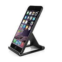 Moveski摩维凯 手机支架 IPS-Z26铝合金平板托架 可折叠收纳 同苹果笔记本制作工艺 看电影打游戏桌面支架 懒人支架 -黑色