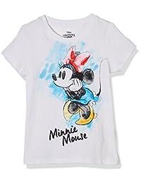 Disney 迪士尼童装 女童 针织短袖T恤 KVM8M2KTKG2518WW