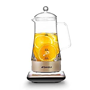 Sansui/山水 KT-811玻璃养生壶电热水壶 多功能花茶壶