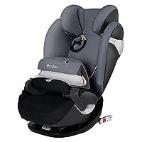 进口亚太版 德国CYBEX 赛百斯 儿童汽车安全座椅 Pallas M-fix 水墨灰 适合9-36kg 约9个月-12岁 带isofix硬接口底座 国内发货 包邮包税