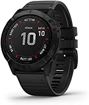 GARMIN fenix 6X Pro GPS腕表 黑色 表帶