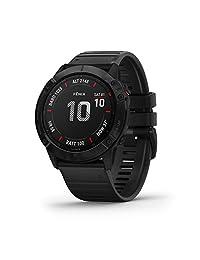 GARMIN fenix 6X Pro GPS腕表 黑色 表带