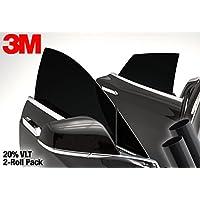 "3M 20% VLT 深黑色车窗贴膜乙烯基包装卷 20""x30"" Single Pack 3m20vltcarwindow_20x30pc2"