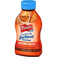 French's Sweet & Smoky Barbecue Mustard Dipping Sauce, 12 fl oz