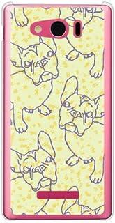 Coverfull 法国斗牛犬 (透明) / for AQUOS PHONE Xx mini 303SH/SoftBank SSH303-PCNT-212-M757