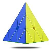 CFMOUR Pyraminx Rubix Cube Pyramid Cube 无贴纸三角魔方