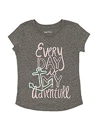Nautica Girls' Every Day Graphic Tee