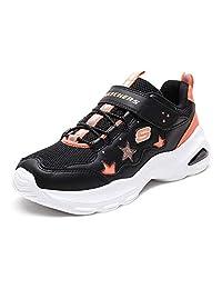 Skechers 斯凯奇 SKECHERS DLITES GIRLS系列 女童 魔术贴休闲运动鞋 996348L