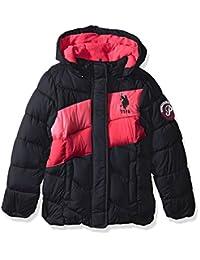 U.S. Polo Assn. 女童中量级泡泡夹克