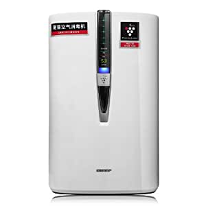 夏普(SHARP)加湿型空气净化器KC-W380SW-W认证消毒机 CADR值375