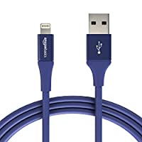 Amazon Basic USB Type-A数据线 Lightning 附接口 premium collection(高级系列)L6LMF130-CS-R  1支 1.8m 蓝色