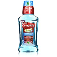 Colgate 高露洁 Total Daily Repair Mouthwash, Fresh Mint, 8.4 Fluid Ounce