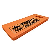"ProFlex 375 Compact Multi-Functional Foam Kneeling Pad, Cushions and Protects for Static Kneeling, Black, 8"" x 18"" x 1"""