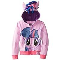 My Little Pony 女童 暮光之城耀服装帽衫 长袖 Purple/Multi 16/加大号