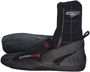 Hyperflex Wetsuits 男士 3mm Amp 圆头靴 10 黑色 XB30V-10