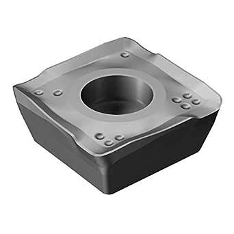 Sandvik Coromant 490R-140416M-PM 1130 Coro Mill 490 嵌入 用于铣削、硬质合金、右手切割 1130 级 AlTiCrN 雨刷 Zertivo 技术(10件装)