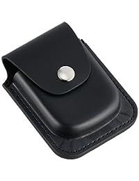 Charles-Hubert,Paris 3572-6 黑色皮革 56mm 口袋手表
