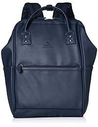 Anello Grande 双肩包 GU-B3601 MS 哑光合成皮革 金属拉链背包 S