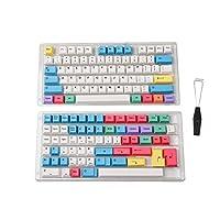 HK 游戏染料升华键帽 | 樱桃轮廓 | 机械键盘厚 PBT 键套装Hades68 139 Keys