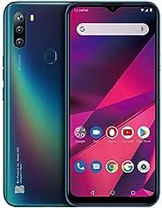 BLU G90-6.5 英寸 HD+ 智能手机带三重主摄像头 蓝色