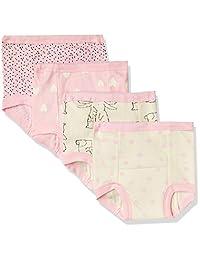 GERBER 女童 4 件装训练裤