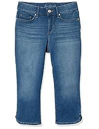 Gloria Vanderbilt 女士娇小舒适曲线紧身牛仔裤七分裤