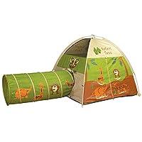 Pacific Play Tents 20435 儿童游乐圆顶帐篷爬行隧道组合室内/室外乐趣