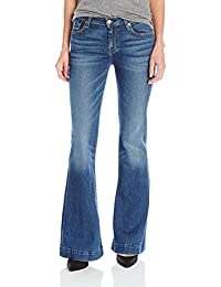 7 For All Mankind Women's the Tailorless Dojo Trouser Jean (Short Inseam)