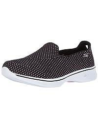 Skechers PERFORMANCE 女式 GO WALK 4Kindle 一脚蹬男士徒步鞋
