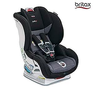 (跨境自营)(包税) 美版 Britax MARATHON ClickTight Convertible儿童安全座椅, VERVE 气魄灰, 适用:0-8岁,2.3-29.5kg