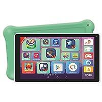 Lexitab Deluxe - 儿童平板电脑,10英寸(25.4 厘米)带学习应用程序,游戏和控制父母 - 带保护袋 - Android,WLAN,蓝牙,Google Play,YouTube,白色/*,MFC514FR