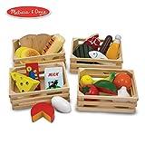 Melissa&Doug 美丽莎和豆豆 食物分类 木质玩具