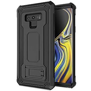三星 Galaxy Note 9 硬质手机壳 - 高级防摔保护 - 媒体支架 - *风格 - 坚固 - Olixar Mantas 黑色