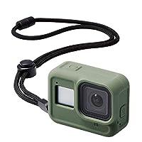 Elecom宜麗客 GoPro HERO8 Black 手機殼 ZEROSHOCK 橄欖* AC-GP8BZEROCGN