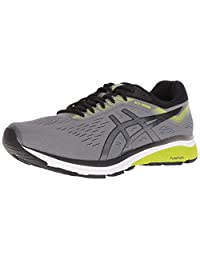 ASICS 男士,GT 1000 7 跑步运动鞋 4E 宽 Carbon/Black 9.5 M US