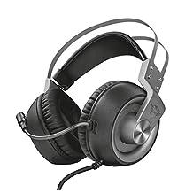 Trust Gaming GXT 4376 Ruptor 7.1 游戏耳机,适用于电脑、笔记本电脑、PS4 和 Xbox One,照明- 银色22808 Original