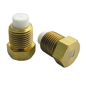 LASCO 15-5421 Pacific Breeze 庭院喷雾系统黄铜喷嘴,带过滤器,1/8 英寸公头管喷嘴,2 只装 10-Pack 15-5441