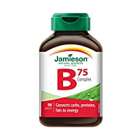 Jamieson 健美生 维生素B族复合片(B75)90片(香港直邮)(包邮包税)