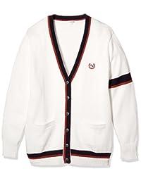 [科诺米] 制服 校服 加入线 开衫 棉 腈纶 棉 上学用 高中生 中学生 学生 学校 毛衣 ARCC-1015