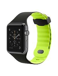 Belkin Smartwatch 替换表带 Apple Watch 系列 1/2-38mm - 黑色F8W730btC03 42 mm 柠檬绿