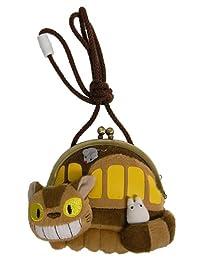 吉卜力工作室 龙猫 蛙嘴 猫巴士和小龙猫 高度13cm