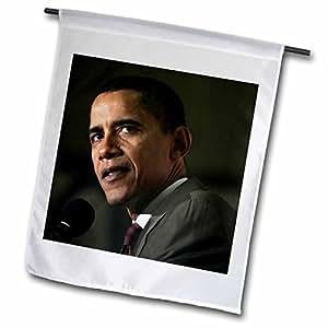 非洲 americans–巴拉克 Obama–旗帜 12 x 18 inch Garden Flag