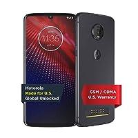 Motorola 摩托罗拉 Instaprint Mod Z4手机 | 解锁 摩托罗拉为美国制造| 4 / 128GB | 48MP相机| 灰色