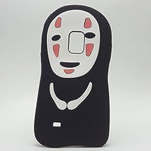 Skyjanus 3D 卡通硅胶保护套,可爱动物设计软胶橡胶外壳三星 Galaxy 手机套 Samsung Galaxy Note 4 无脸