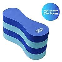 Sunlite Sports 9.5 英寸 EVA 5 层浮力腿漂浮 – 泳池训练辅助剂、腿和臀部支撑,适用于成人、儿童及初学者,适用于游泳冲击