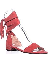 stuart weitzman 女士 corbata 包裹式凉鞋